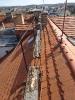 Dezolátní a nebezpečný stav starých dřevěných komínových lávek